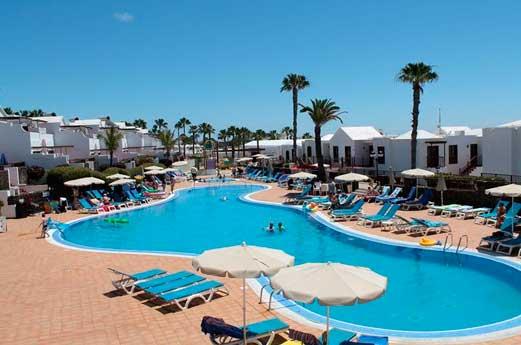 Aparthotel Flamingo Beach zwembad