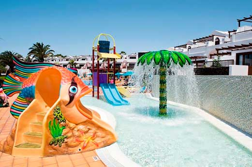 Aparthotel Flamingo Beach waterspeeltuin