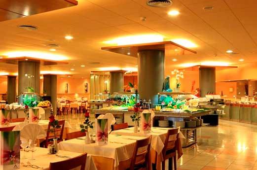 Aquahotel Montagut restaurant