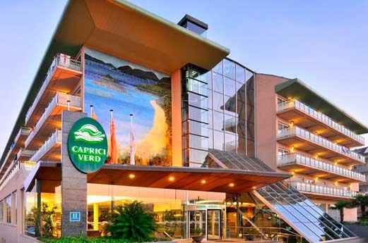 Hotel Caprici Verd voorkant