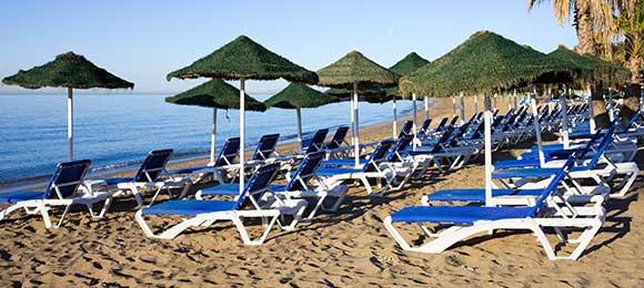 stranden costa del sol