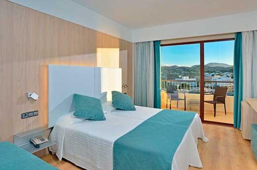 Hotel Hawaii Ibiza hotelkamer
