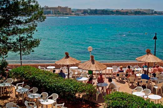 Hotel Hawaii Ibiza strand