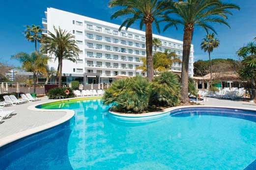 Hotel Riu Bravo zwembad