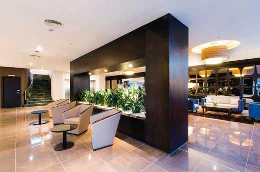 Hotel Riu Bravo lobby