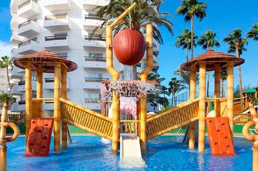Waikiki hotel waterspeeltuin