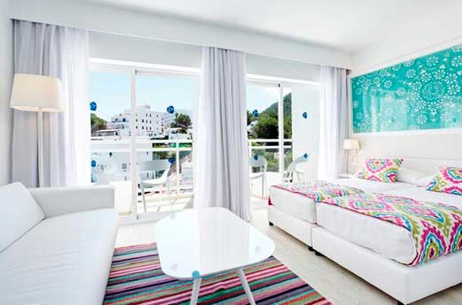 Ibiza Beach Resort slaapkamer