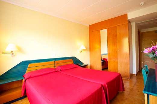 Hotel Luna Park hotelkamer