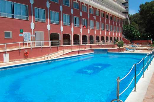 Hotel Luna Park zwembad