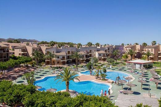 Aparthotel Albir Garden zwembad
