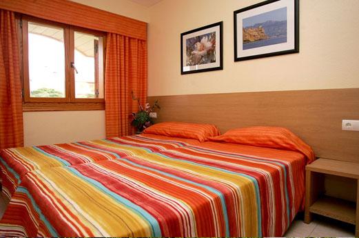 Aparthotel Albir Garden kamer