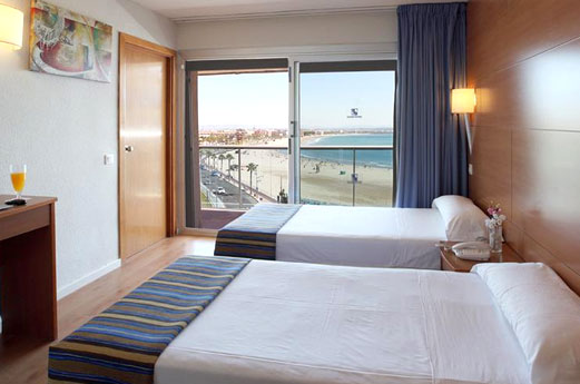 Hotel Golden Donaire Beach kamer