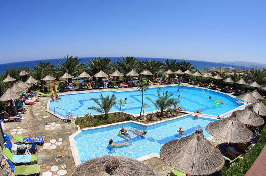 Hotel Mediterraneo zwembad