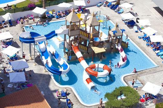 Hotel Rosamar zwembad