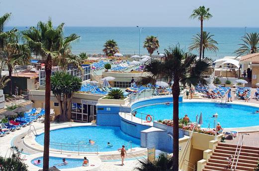 Hotel Sol Don Pablo zwembad