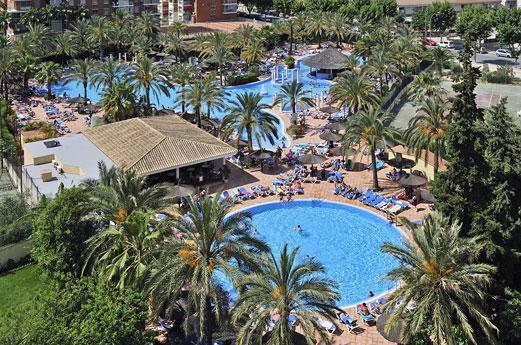 Hotel Sol Pelicanos Ocas zwembad