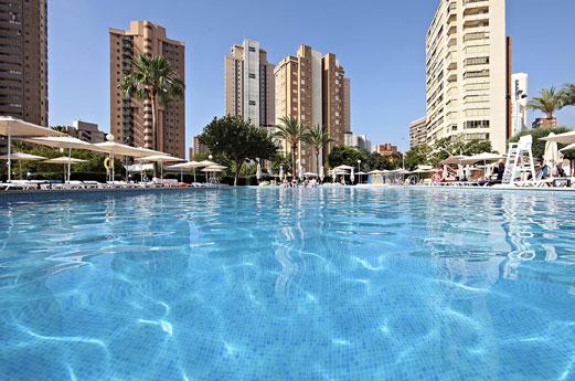 Marconfort Benidorm Suites zwembad