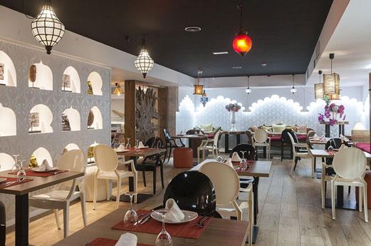 Marconfort Benidorm Suites restaurant