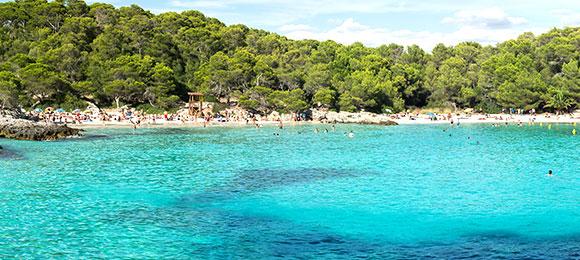 strand van menorca