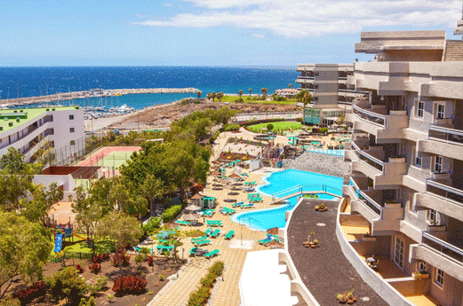 Aguamarina Golf Hotel & Appartementen Uitzicht