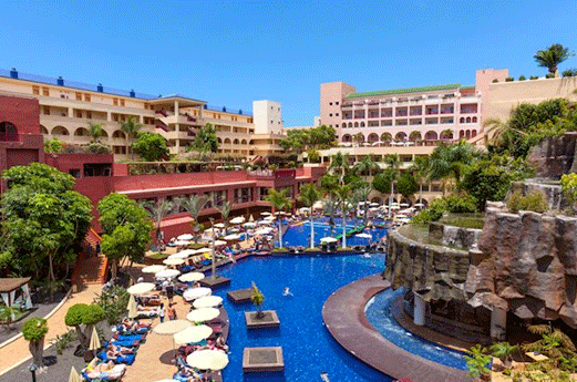 Hotel Best Jacaranda Zwembad
