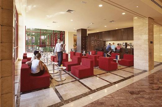 Hotel Best Jacaranda Receptie