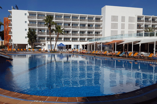 Hotel Mare Nostrum Zwembad