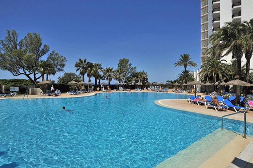 Hotel Sol Milanos Pinguinos Zwembad