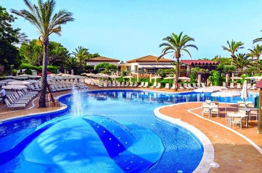 Hotel Zafiro Menorca Zwembad