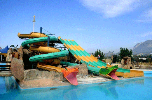 Magic Robin Hood Lodge Resort Zwembad