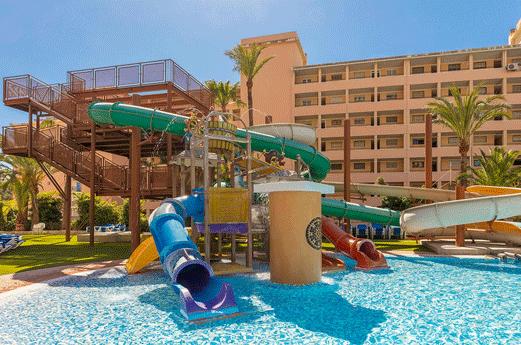 Magic Tropical Splash Aparthotel Kinderbad