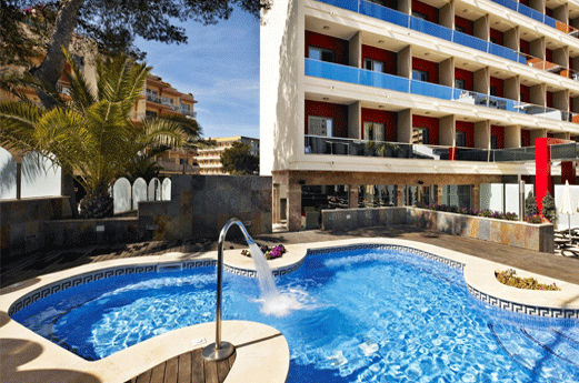 Hotel Mediterranean Bay Zwembad