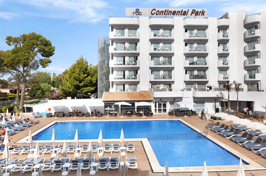 Roc Continental Park Hotel Zwembad