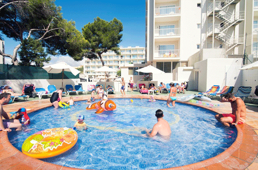 azuLine Hotel Coral Beach Zwembad