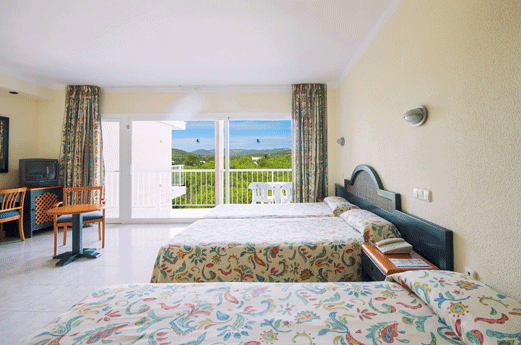 azuLine Hotel Coral Beach Kamer