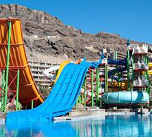 Hotel Paradise Valle Taurito: Uitzonderlijk waterpret met snelle glijbanen